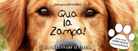 Qua la zampa! al cinema dal 19 gennaio con la voce di Gerry Scotti