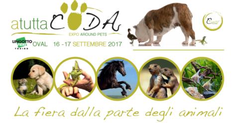 Il 16 e 17 settembre torna a Torino ATUTTACODA – EXPO AROUND PETS!