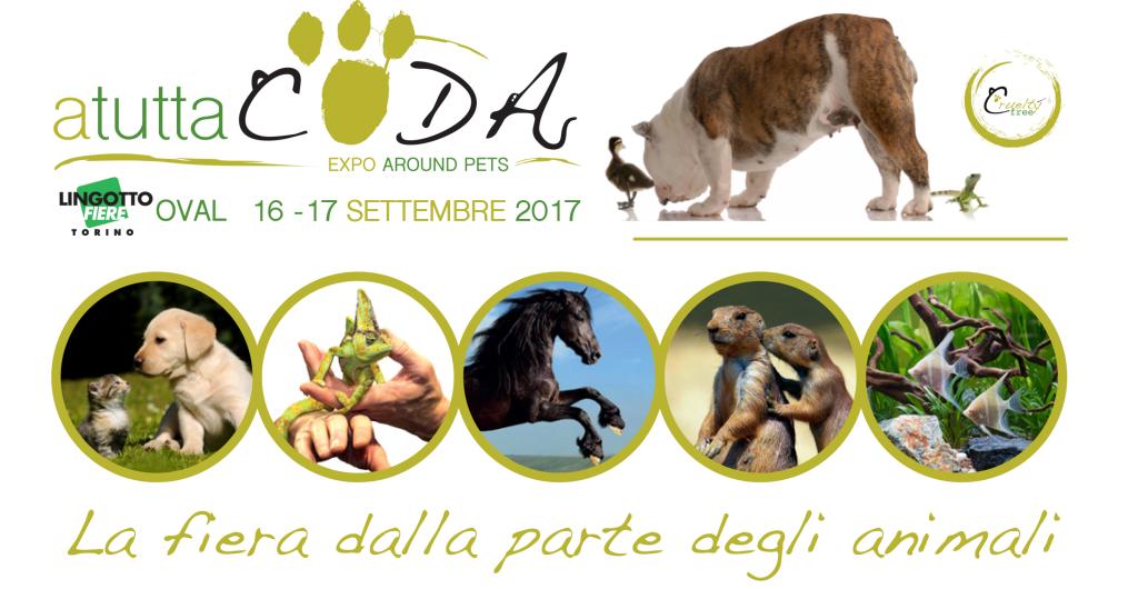 Il 16 e 17 settembre torna a Torino ATUTTACODA - EXPO AROUND PETS!