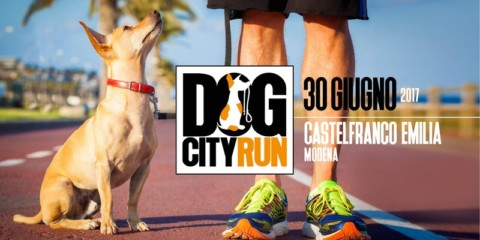 Dog City Run: a Castelfranco Emilia si corre a sei zampe
