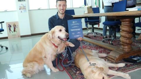 All'Università di Teramo gli esami si sostengono con la pet therapy!