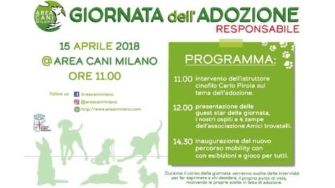 Areacanimilano organizza il 15 aprile la Giornata dell'Adozione Responsabile