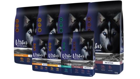 Virtus: ecco la nuova linea di cibo per cani