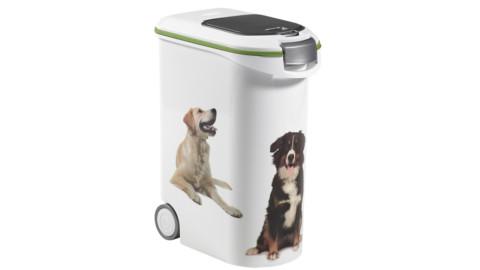 Curver, contenitore cibo per cani capienza 20 kg/54 litri