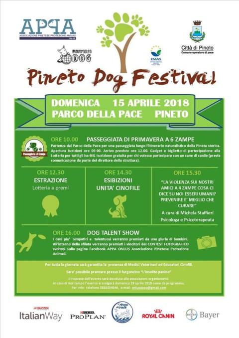 Pineto Dog Festival 2018 in programma domenica 15 aprile