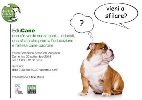 EduCane a Milano per la GreenWeek