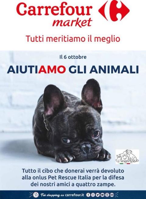 Aiutiamo gli animali: Carrefour e Pet Rescue insieme il 6 ottobre