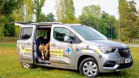 Opel Combo Life, l'auto a misura di cane approvata da Enpa