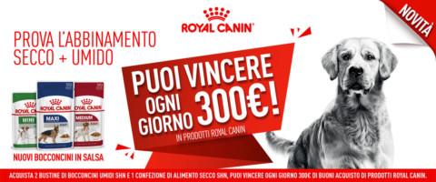 Bocconcini Vincenti, ecco il concorso di Royal Canin
