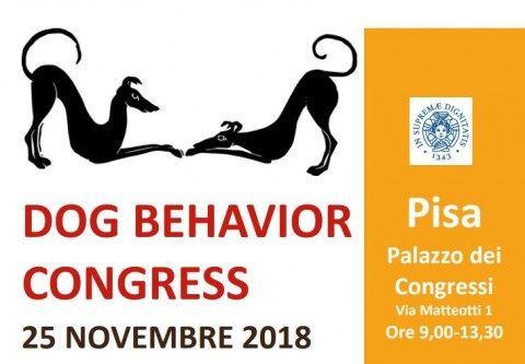 Dog Behavior Congress a Pisa il 25 novembre
