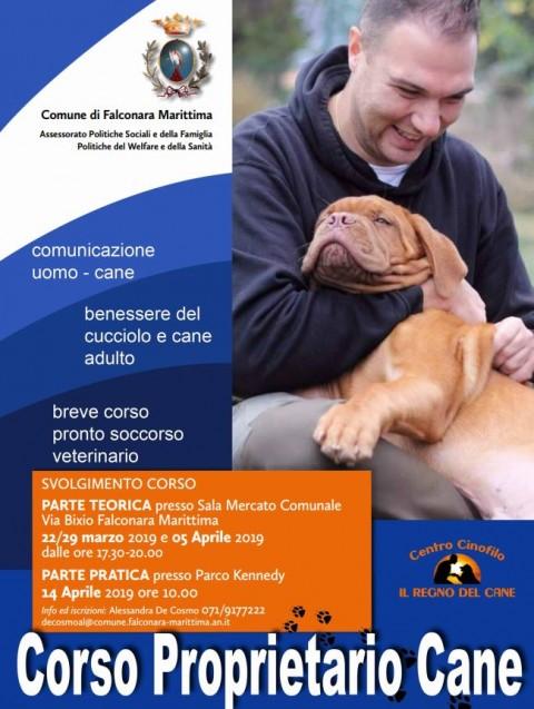 Falconara Marittima, ecco il corso per proprietari di cani