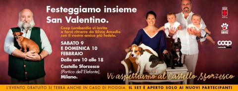 Silvia Amodio torna al Castello Sforzesco per ritrarre cani e umani